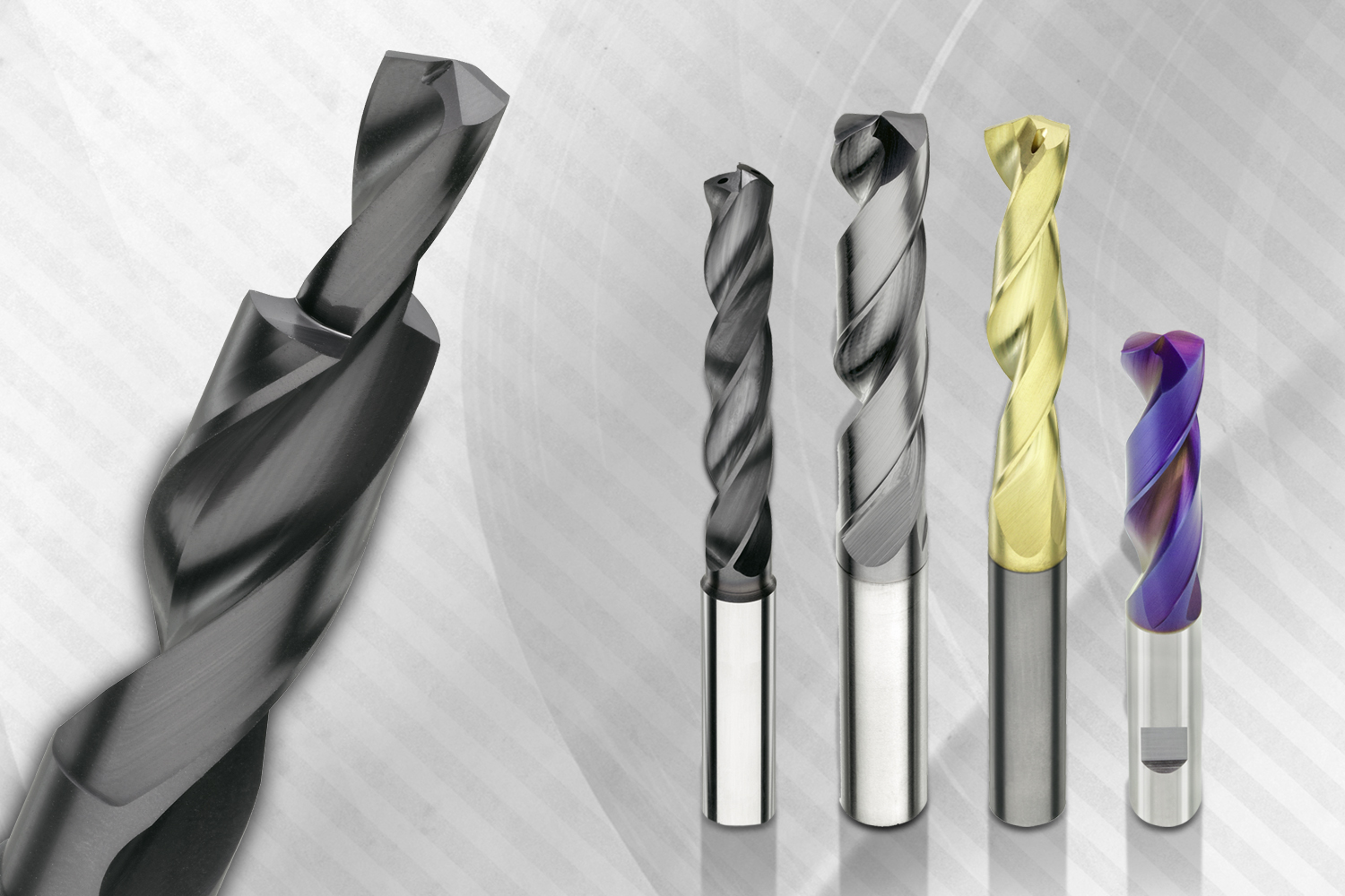 Solid carbide drills